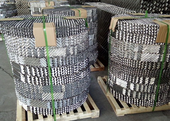 Gauze Metal Structured Packing High Efficiency Dengan Perlawanan Kecil