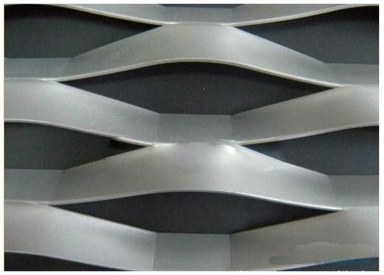 Strech Flatted Expanded Metal Mesh / Grill Wire Mesh 0.3mm - Tebal 2mm
