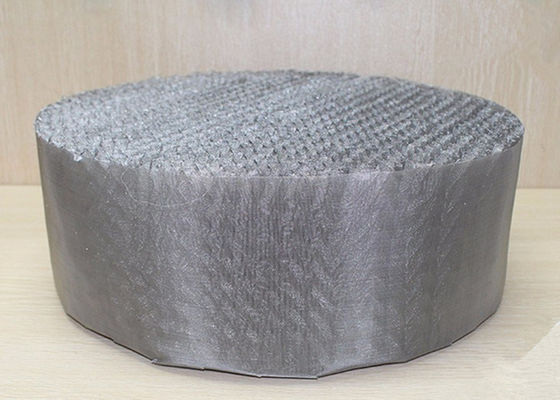 Scrubbing Tower 316 Stainless Steel Wire Mesh Metal Wire Gauze Packing