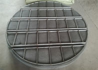 Stainless Steel Mesh Lembar / Mist Eliminators Mesh Pads Alloy Material